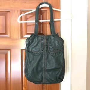 NWT Lucky Brand Forest Green Shoulder Bag